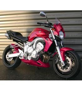 Garde boue avant Racing FZ6 04-06 vue moto complète 1