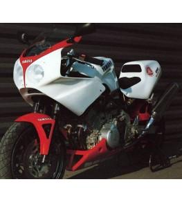 Sabot moteur TRX 850 95-99 montage 1