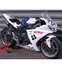 Carénage en 2 parties Evo 1 Yamaha R1 09-14 montage piste