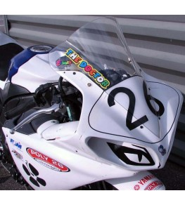 Carénage en 2 parties Evo 1 Yamaha R1 09-14 avec bulle adaptable ou origine
