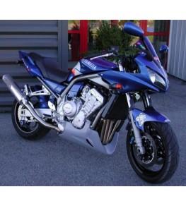 Sabot moteur Evo 2 Fazer 1000 01-05 vue sur moto complète