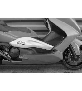 Carénage en 4 parties Yamaha TMax 500 01-11 détail sabot fermé