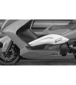 Carénage en 4 parties Yamaha TMax 500 01-11 détail sabot 2