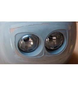 Kit double optiques 90mm, prémontage