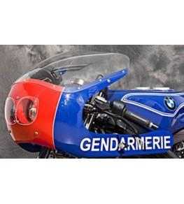 Kit double optiques 90mm, montage BMW vue globale