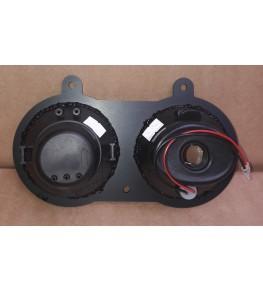 Kit double optiques en diamètre 90mm vue arrière