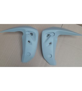 Ecopes de radiateur Z750 04-06 brut livrés par paire
