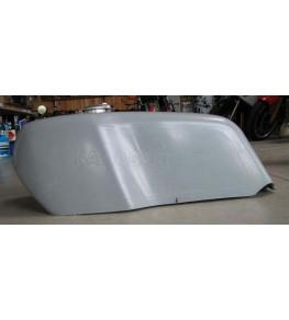 Cache réservoir polyester type Mach 3 vue gauche