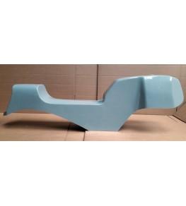 Monocoque cache réservoir + selle polyester type Café Racer 01 vue droite