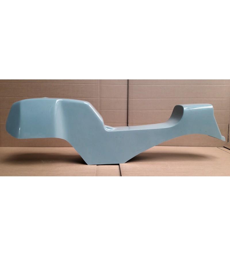 Monocoque cache réservoir + selle polyester type Café Racer 01 vue gauche