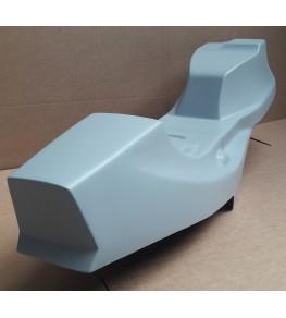 Monocoque cache réservoir + selle polyester CB 750 Four F2 vue arrière