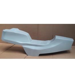 Monocoque cache réservoir + selle polyester CB 750 Four F2 profil gauche