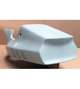 Coque arrière monoplace 250 RGV 91-97 brut vue arrière