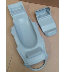 Passage de roue Bandit 1200 95-99 petits clignos brut