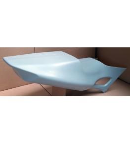 Coque arrière monoplace 600 CBR 97-98 brut profil arrière