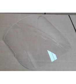 Bulle incolore pour la tête de fourche 5537 MZ Skorpion profil droit