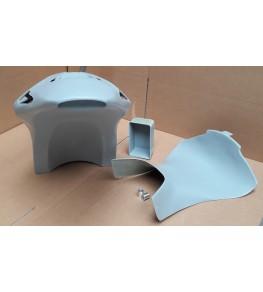 Coque arrière autoporteuse RCV Réplica VFR 90-93 brut profil arrière