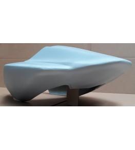 Coque arrière monoplace SV 650 / 1000 2003-2010 GSXR Réplica brut vue de dessous