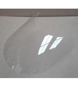 Bulle incolore pour la tête de fourche Racer 1 vue de haut