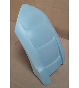 Garde boue arrière Shiver 750 brut profil avant