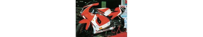 Carénages pour Aprilia 125 RS de 1996 à 1998, selle arrière monoplace, garde boue avant...
