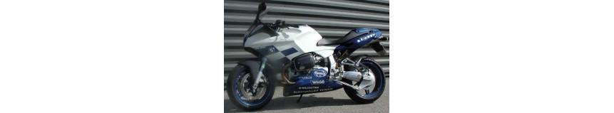 Carénages pour BMW R1100 S, sabot moteur type Boxeur Cup en polyester...