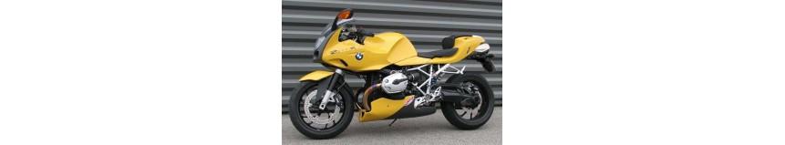Carénages pour BMW R1200S, sabot moteur avec fixations, en polyester...