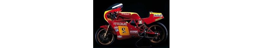 Carénage POLY 26 Ducati 600 TT2, carénage en 2 partie avec sabot, bulle