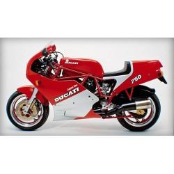 Ducati 750 F1 1985 à 1986