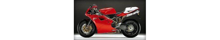 Pour votre Ducati 748 916 ou 996 carénages en polyester pour Ducati 748 / 916 / 996, carénage en 5 parties