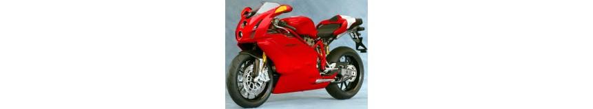 Carénages Poly 26 pour Ducati 749 / 999 de 2003 à 2006, carénage en 2 parties avec ou sans découpe de phare