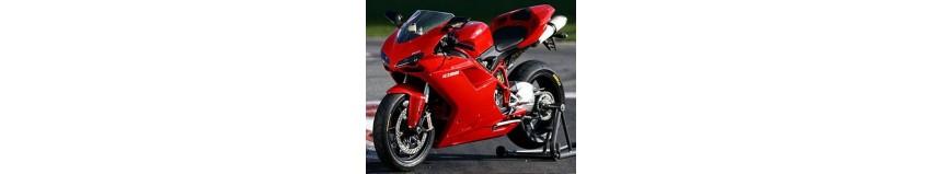 Carénages en polyester pour Ducati 848 / 1098 / 1198, carénage en 2 parties avec ou sans découpe de phare