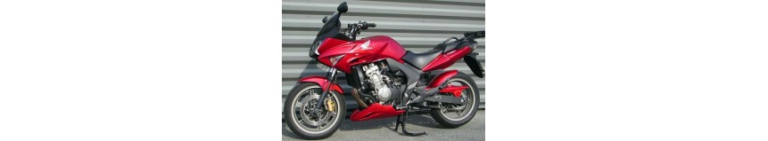 Carénages en stratifié polyester pour Honda 600 CBF de 2008 à 2012, sabot moteur