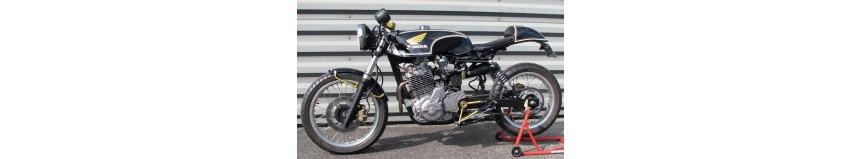 Carénages pour Honda SLR 650, transformation et modifications de type Café Racer, réservoir, coque arrière