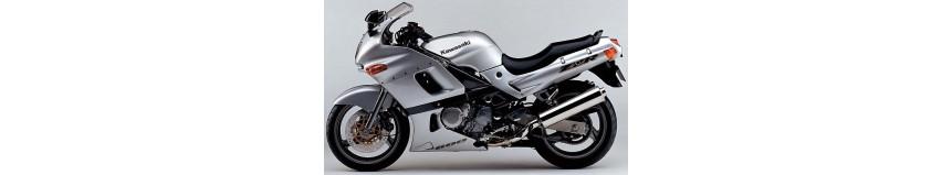 Carénages en stratifié polyester pour Kawasaki ZZR 600 de 1993 à 2002, carénage en 2 parties