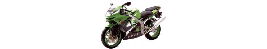 Carénages en stratifié polyester pour Kawasaki ZX6R de 1998 à 1999, carénage en 3 parties coupe origine