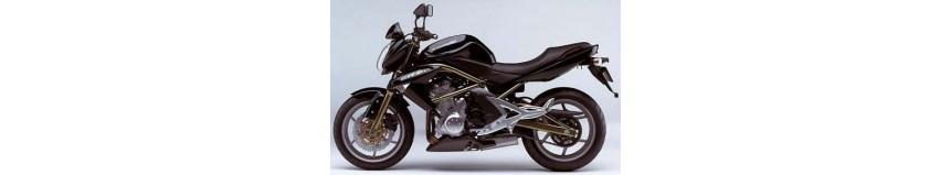 Carénages en stratifié polyester pour Kawasaki ER6 N et F de 2006 à 2008, tête de fourche type CUP