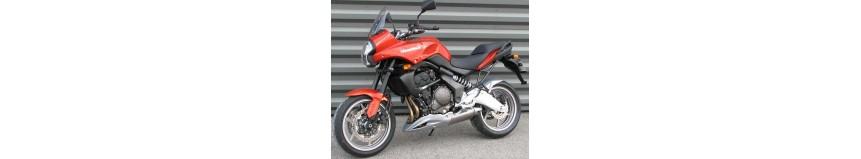 Carénages en stratifié polyester pour Kawasaki Versys 650 de 2007 à 2009, sabot moteur, garde boue