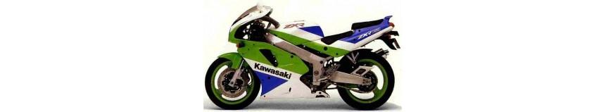 Carénages en stratifié polyester pour Kawasaki 750 ZXR Stinger de 1989 à 1990, carénage en 3 parties