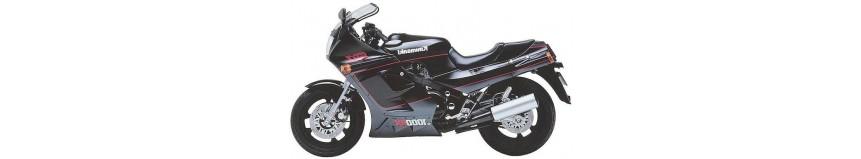 Carénages en stratifié polyester pour Kawasaki 1000 RX, carénage double optiques, tête de fourche double optiques