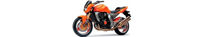 Carénages en stratifié polyester pour Kawasaki Z 1000 de 2003 à 2006, garde boue avant, sabot moteur