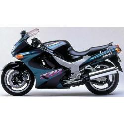Kawasaki ZZR 1100 de 1993 à 2001