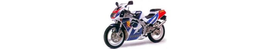 Carénages en polyester pour Suzuki 125 RG Fun de 1992 à 1997, carénage en 2 parties, coque arrière monoplace
