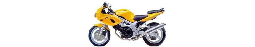 Carénages en polyester pour Suzuki SV 650 version S et N de 1999 à 2002, sabot moteur Evolution 1 et 2, passage de roue