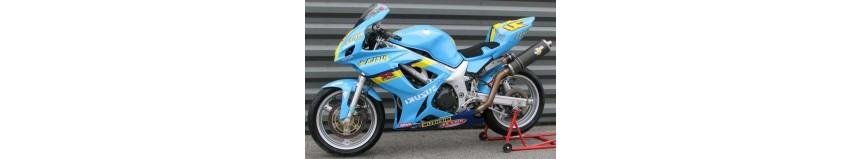 """Transformer votre SVS 650, avec notre kit """"Racing SVXR"""" look GSXR, pour SVS 650 de 1999 à 2002"""