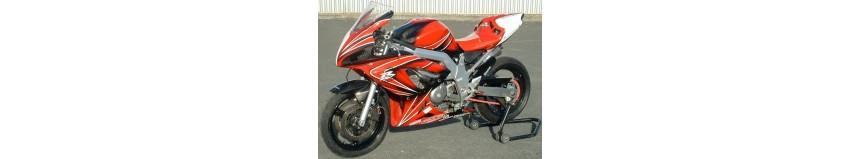 """Transformer votre SVS 650, avec notre kit """"Racing SVXR"""" look GSXR, pour SVS 650 de 2003 à 2010"""