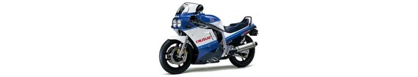 Carénages en polyester pour Suzuki GSXR 750 / 1100 de 1986 à 1987 + 1100 GSXR 1988, carénage en 4 parties coupe origine