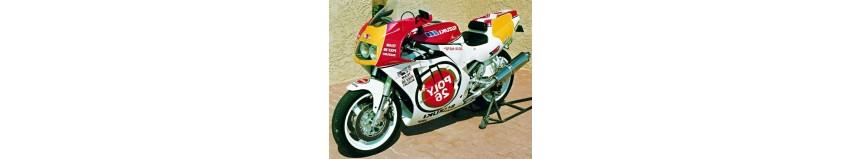Carénages en polyester pour Suzuki GSXR 750 de 1990 Endurance Réplica 90