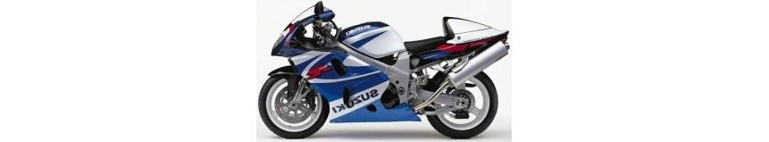 Carénages en polyester pour Suzuki TL 1000 R de 1998 à 2001, carénage Racing en deux parties avec sabot fermé