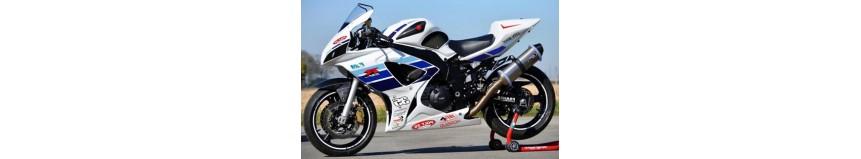 """Transformer votre SVS 1000, avec notre kit """"Racing SVXR"""" look GSXR, pour SVS 1000 de 2003 à 2007"""